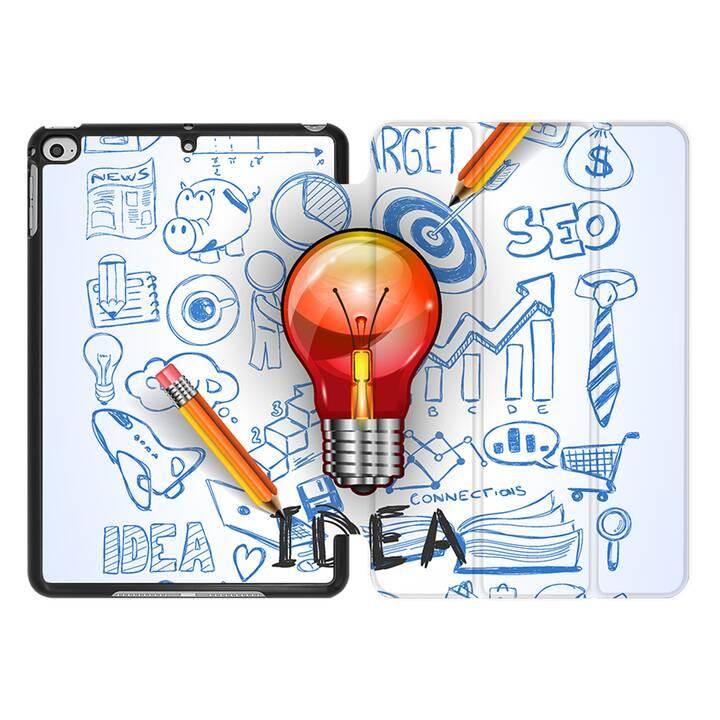 EG MTT Coque pour iPad Mini 4 (2015) et Mini 5 (2019) - ampoule créative