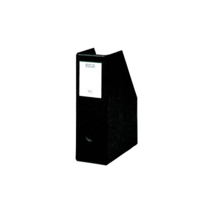 Porta riviste BIELLA Info-Box A5 nero 75x235x195mm Info-Box A5 nero 75x235x195mm