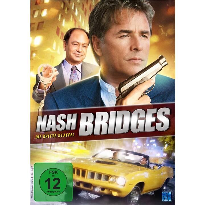 Nash Bridges Saison 3 (DE, EN)
