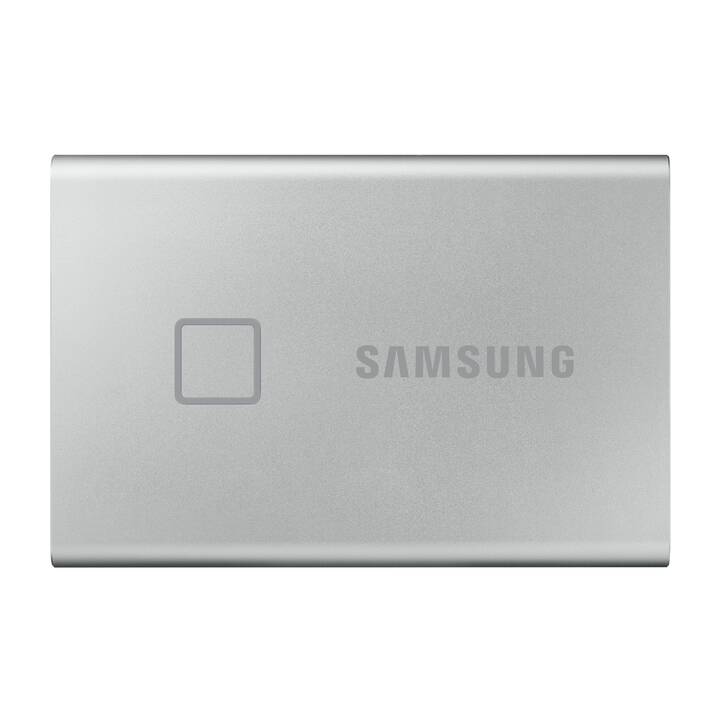 SAMSUNG T7 Touch (USB 3.1, 1 TB, Argento)