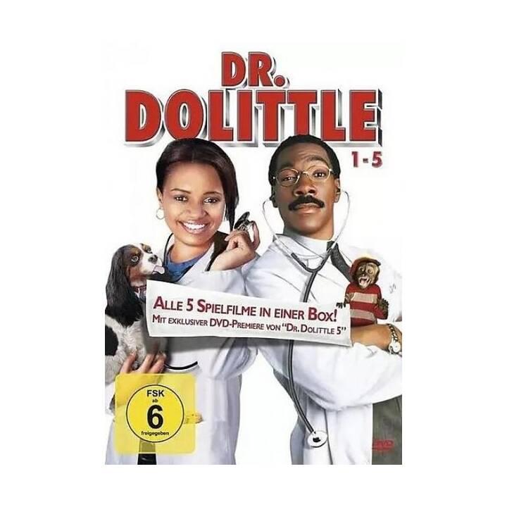 Dr. Dolittle - Boxset 1-5 (DE, DA, EN, FI, NO, SV, ES)