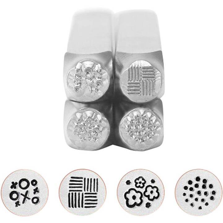 CREATIV COMPANY set de timbres à estamper