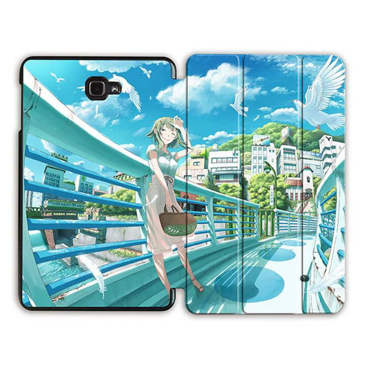 "EG MTT Tablet Bag con coperchio pieghevole Smart per Samsung Galaxy Tab A 10.1"" (2016) MTT - Comics"