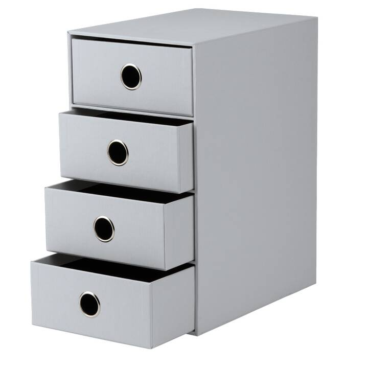 RÖSSLER PAPIER Büroschubladenbox (Grau)