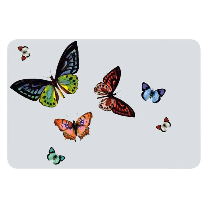 HORNSCHUCH Set de table Cristallino Papilio (1 Stk, Polychlorure de vinyle (PVC), Transparent)