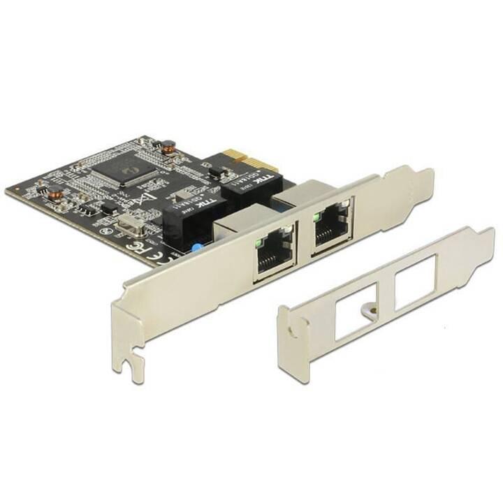 DELOCK Adaptateur réseau (PCI)