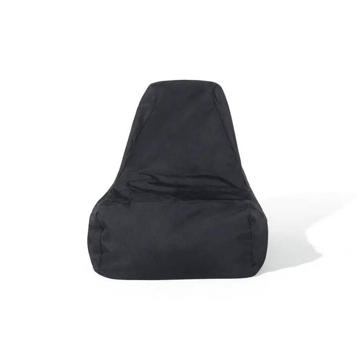 BELIANI Siesta Sitzsack (Schwarz)