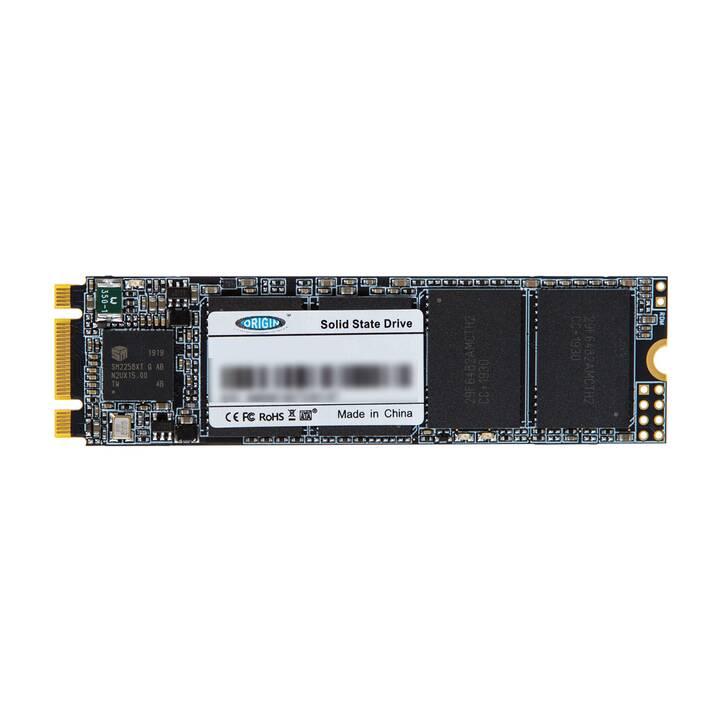 ORIGIN STORAGE NB-128SSD-M.2 (SATA, 128 GB, Schwarz)