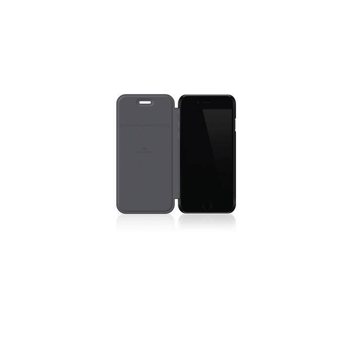 BLACK ROCK Flipcover Pure (iPhone 6, iPhone 6s, Schwarz)