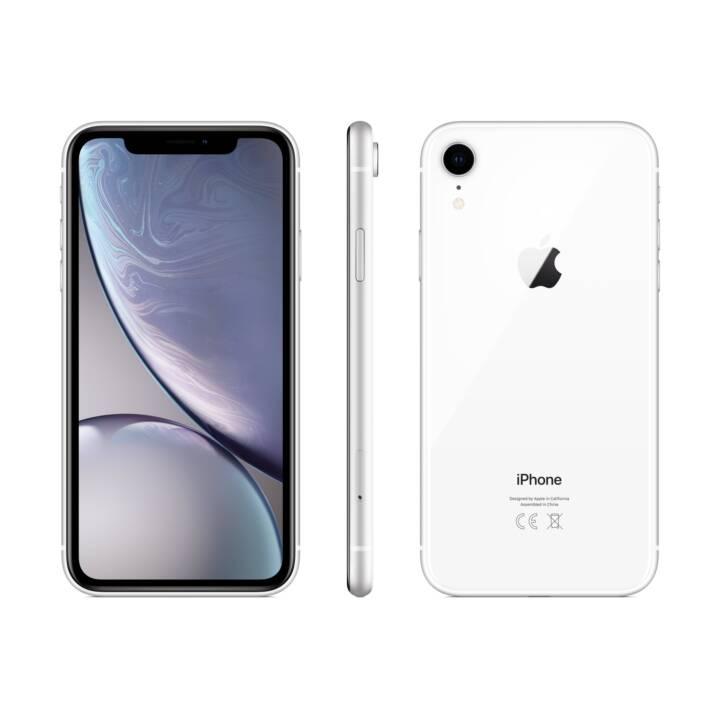 APPLE iPhone XR (128.0 GB, 6.1 inch, 12.0 MP, Weiss)
