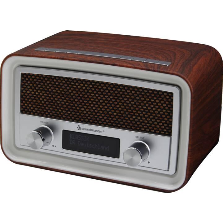 SOUNDMASTER UR190 Radio-réveil (Brun)