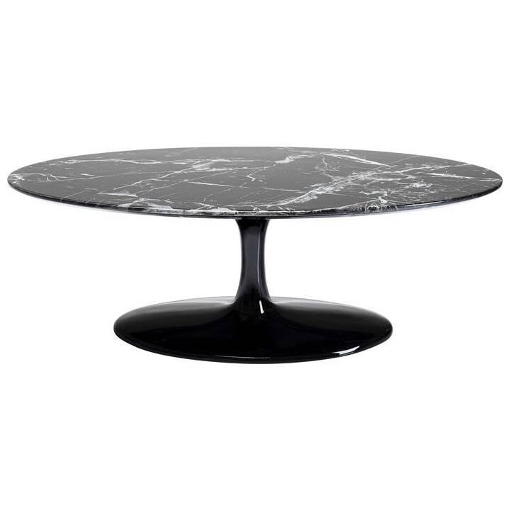 KARE Couchtisch Solo Marble (43 cm, Marmor Schwarz)
