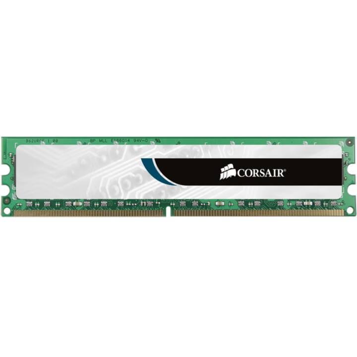 CORSAIR Value Select (1 x 8 GB, DDR3-SDRAM, DIMM 240-Pin)