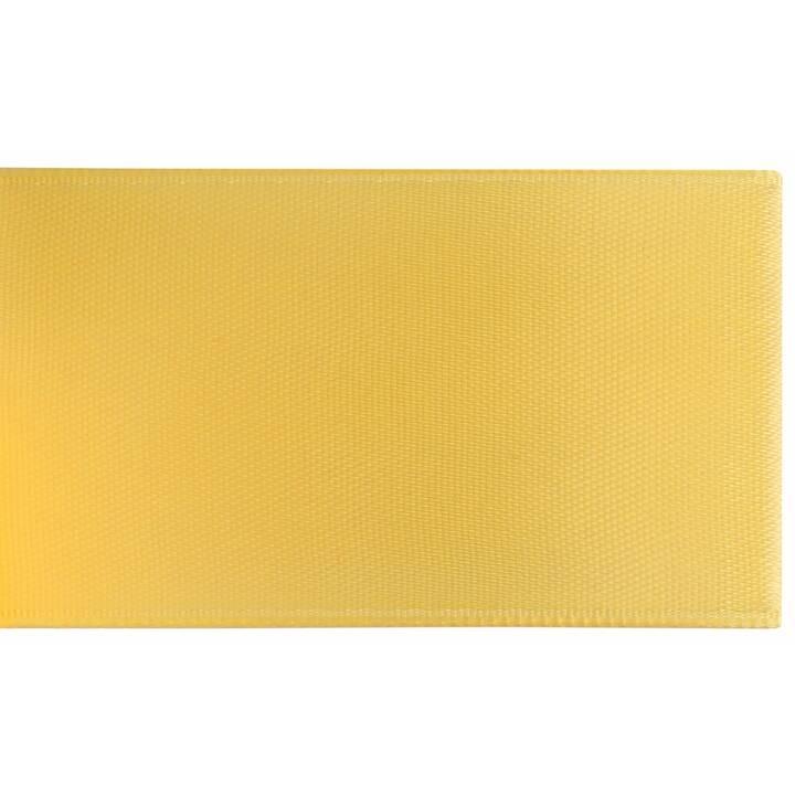 GLOREX Nastro decorativo Satin (Giallo, 4 cm x 5 m)