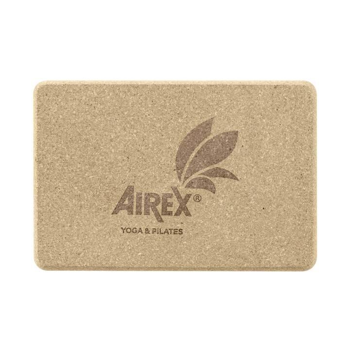 AIREX Yoga Eco Cork Block Yogamatte (150 cm x 225 cm x 74 mm)