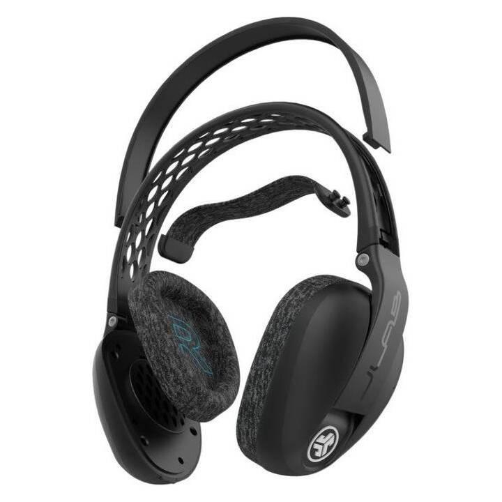 JLAB AUDIO Flex Sport Wireless Headphones (Over-Ear, Bluetooth 5.0, Noir)
