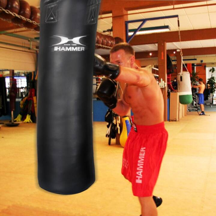 HAMMER Boxsack Black Kick (120 cm, 34 kg)