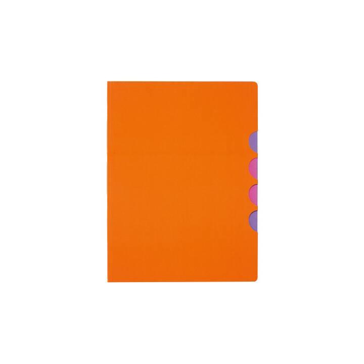 PAGNA chemise à 5 compartiments Style up orange
