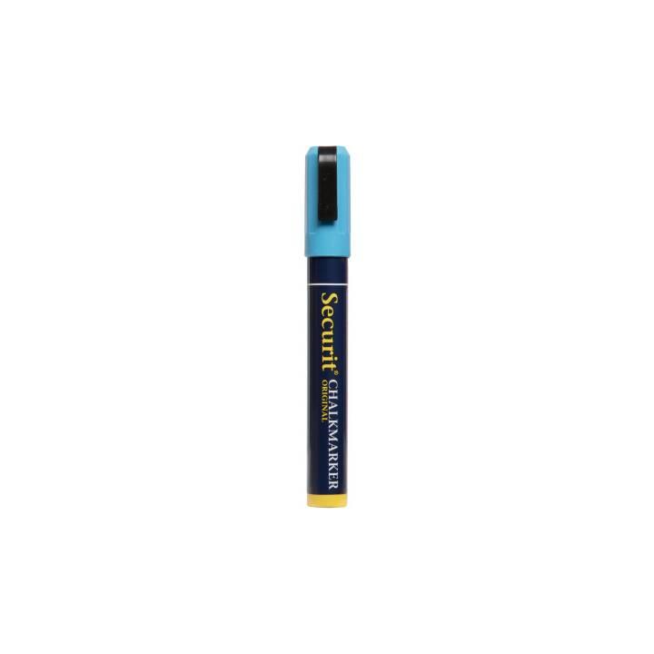 SECURIT Marcatore gesso SMA510-BU (Blu, 1 pezzo)
