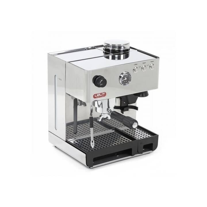 LELIT Anita PL042EMI (Edelstahl, 2.7 l, Espressomaschine / Siebträgermaschine)