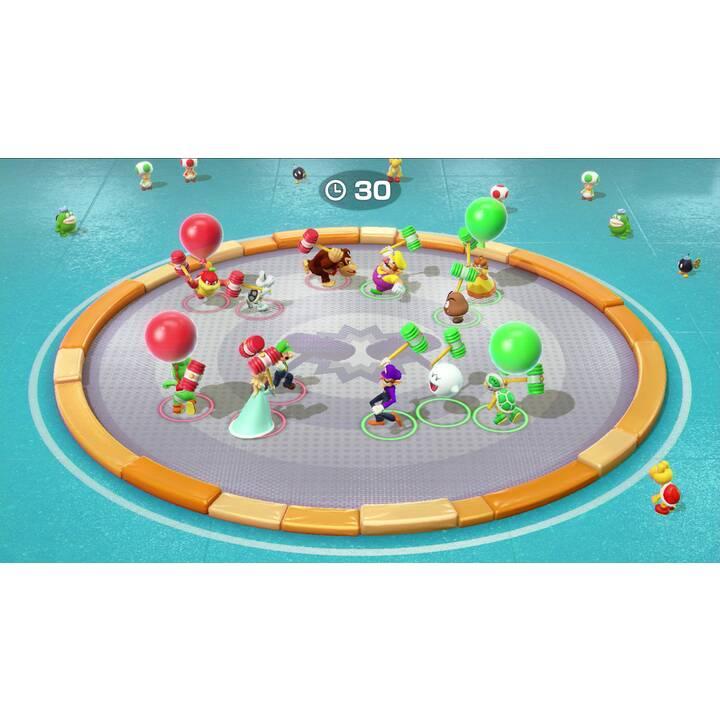NINTENDO Switch New Neon + Super Mario Party + Switch Joy-Con Set Neon 32 GB (Tedesco)