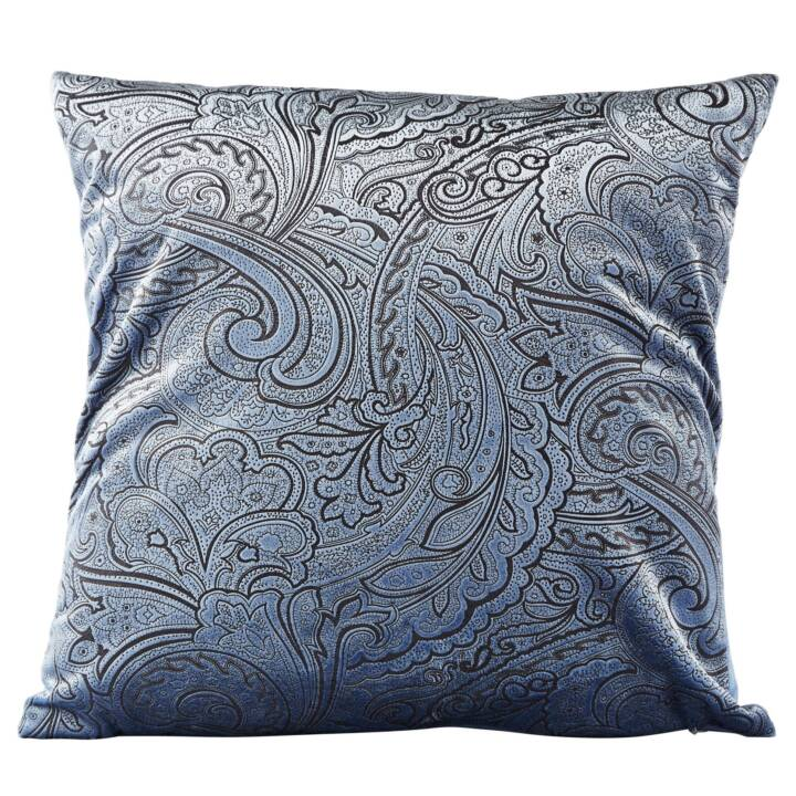 KJ COLLECTION Kissen (45 x 45 cm, Hellblau)