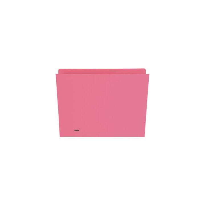 BIELLA Boîtes pour dossiers suspendus (A4, Rouge, 1 pièce)