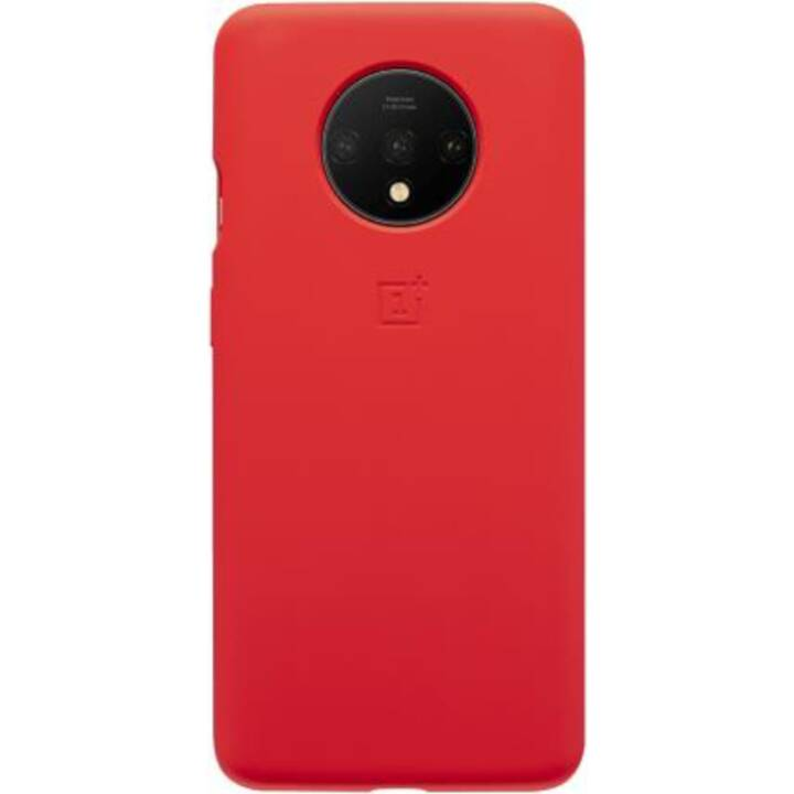 ONEPLUS Butoir Silicone (OnePlus 7T, Rouge)