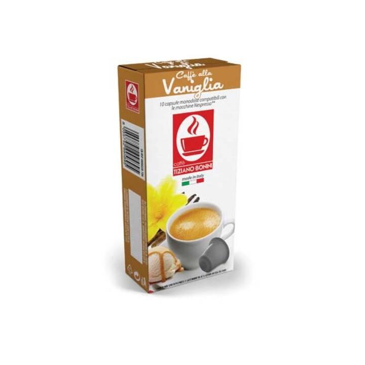 TIZIANO BONINI Kaffeekapseln Espresso Vaniglia (10 Stück)