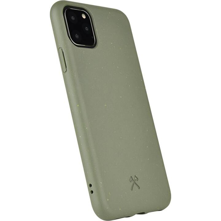 WOODCESSORIES Backcover BioCase (iPhone 11 Pro, Grün)
