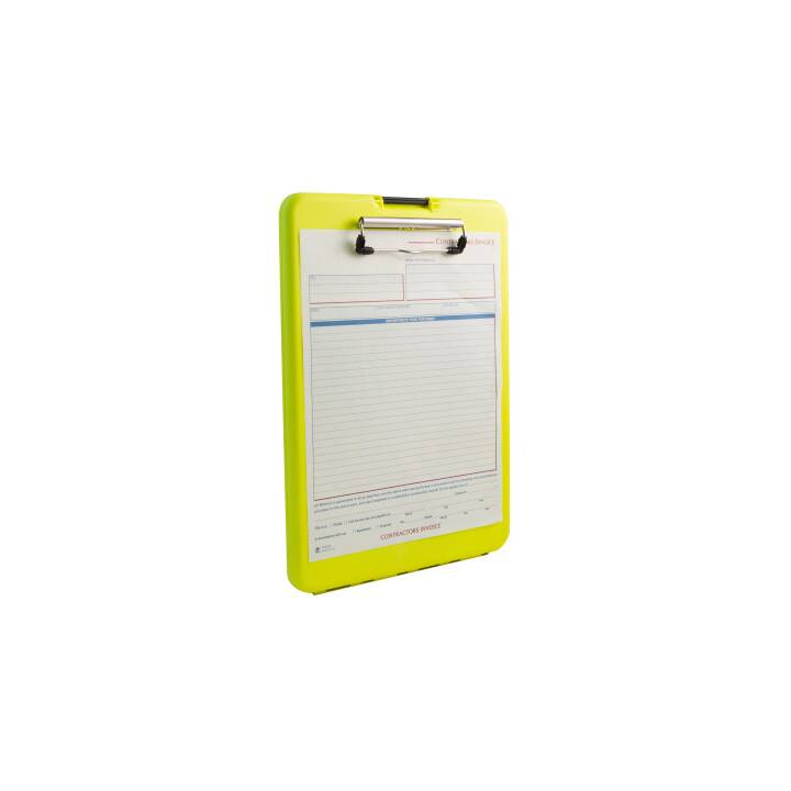 SAUNDERS SlimMate Safety 240x335mm jaune