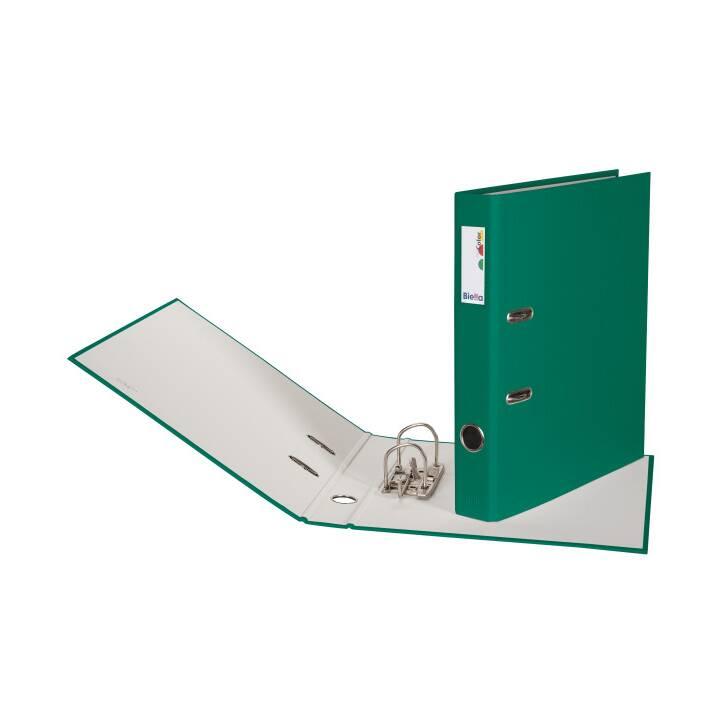 BIELLA pochette 4cm A4 verte
