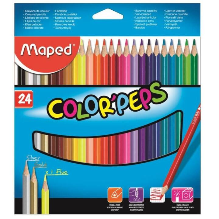 MAPED Farbstifte Color Peps  24 Stück