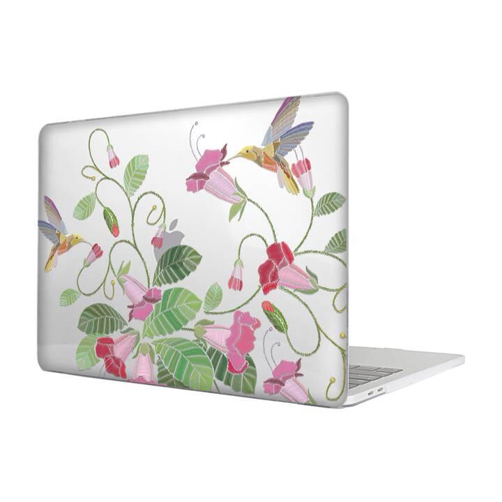 """EG MTT Housse pour MacBook Pro 15"""" Touchbar (2016 - 2018) - Broderie"""