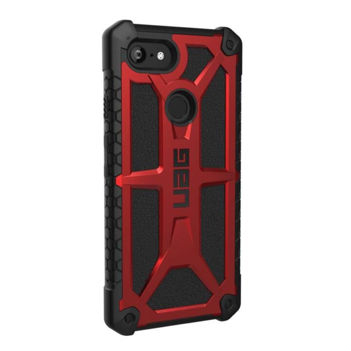 UAG Couverture arrière Monarch Pixel 3 XL, Crimson