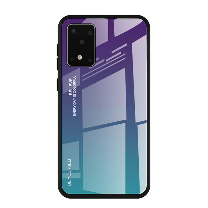 "EG Mornrise backcover per Samsung Galaxy S20 6.2"" 2020 - blu viola"