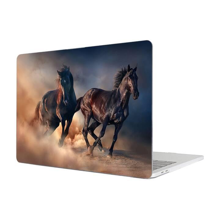 """EG MTT Hülle für Macbook Pro 15"""" Touchbar (2016 - 2018) - Pferd"""