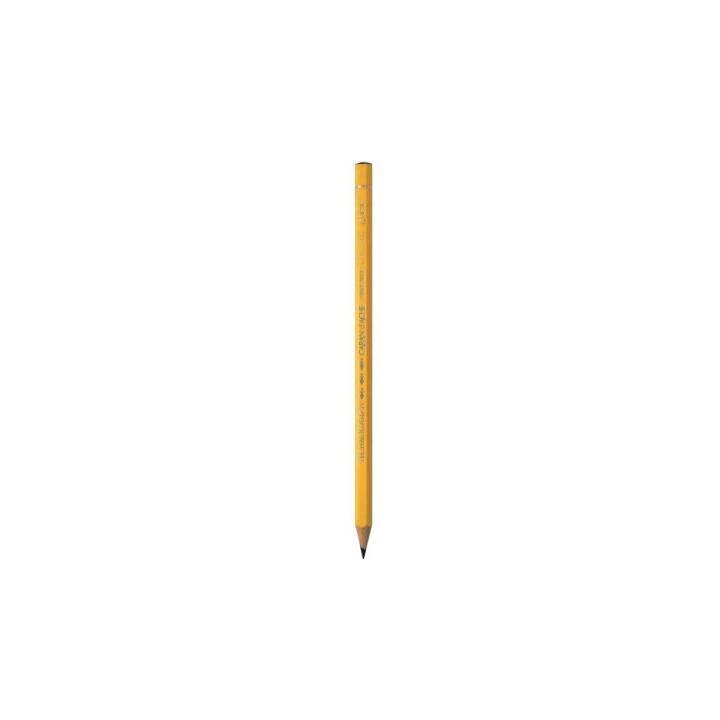 CARAN D'ACHE Matita Technograph 6B giallo