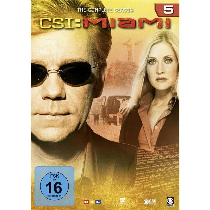 CSI - Miami Komplettbox Saison 5 (EN, DE)