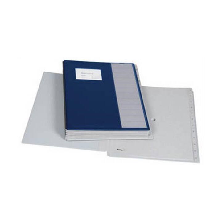 Cartella da tavolo BIELLA Pronto A4 blu scuro 12 pezzi