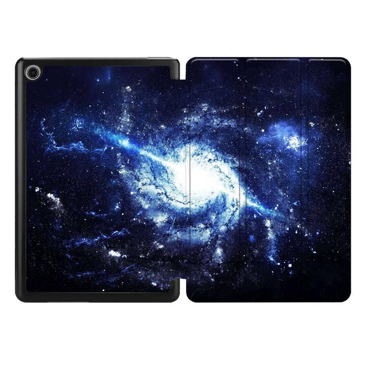 "EG MTT Housse pour HUAWEI MediaPad M6 8.4"" 2019 - univers"