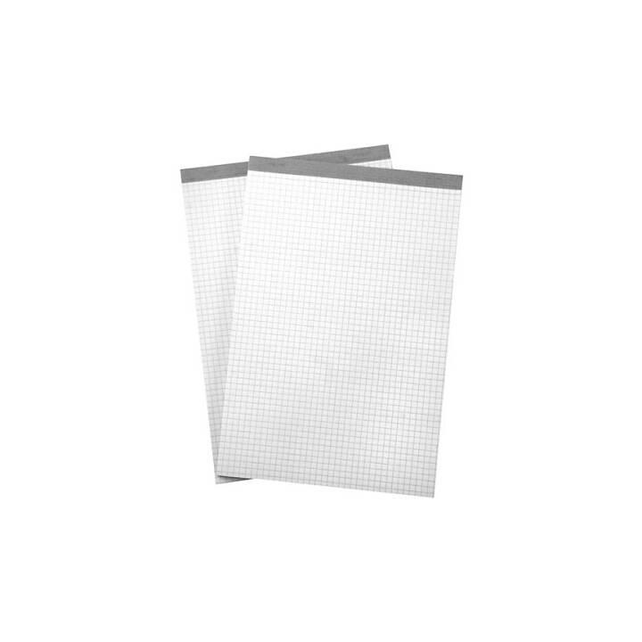 BÜROLINE A5 4 mm controllato bianco