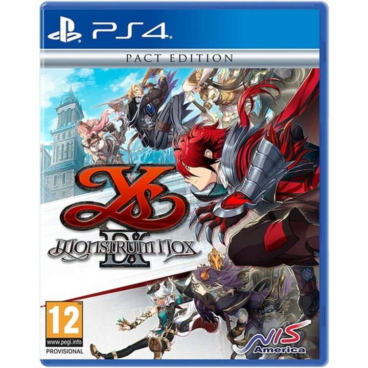 Ys IX Montrum Nox - Pact Edition (Giapponese)