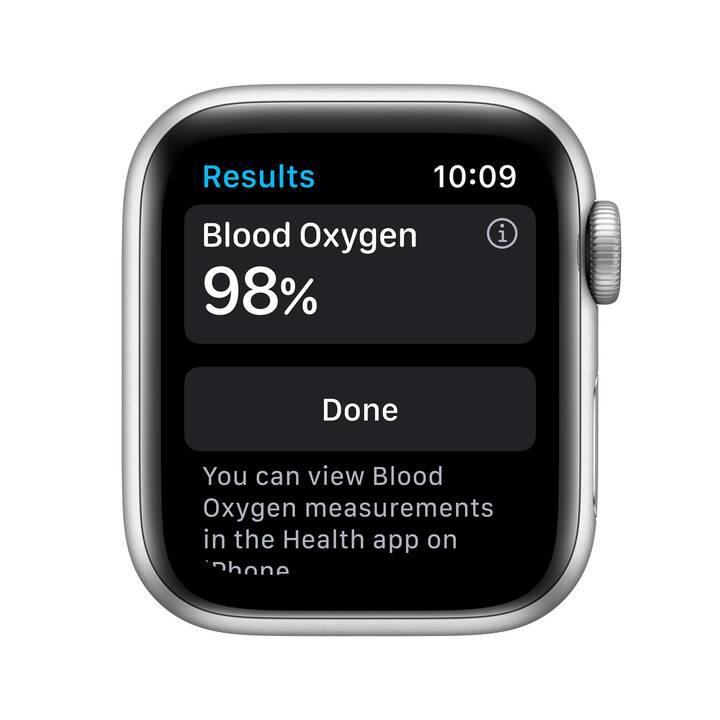 APPLE Watch Nike Series 6 GPS + Cellular (40 mm, Alluminio, Silicone)