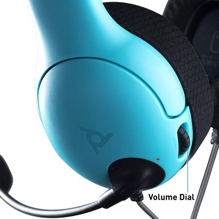 PDP LVL40 (On-Ear, Rosso, Blu)