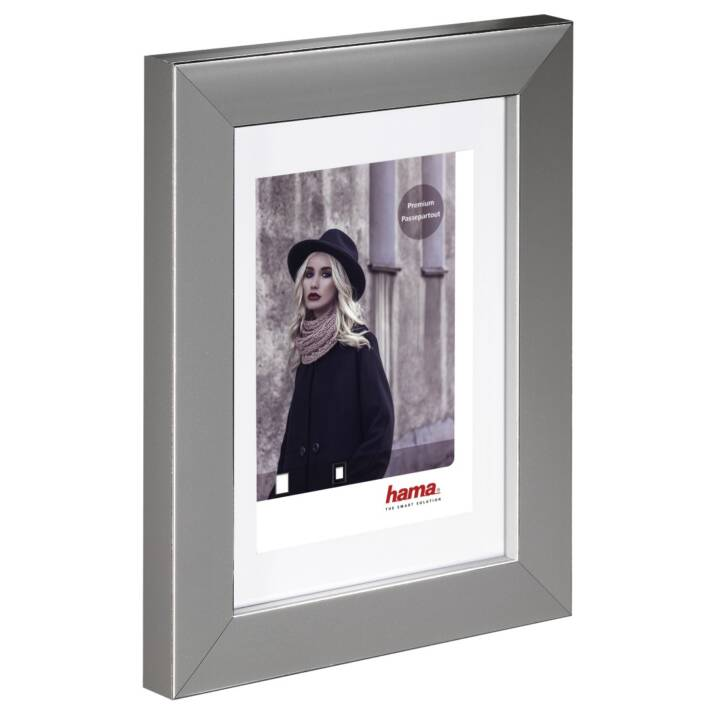 HAMA Valentina Foto- & Bilderrahmen (300 mm x 400 mm, Grau)