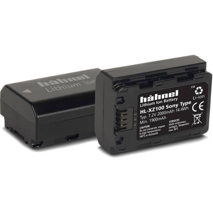Batteria della fotocamera digitale HÄHNEL HL-XZ100