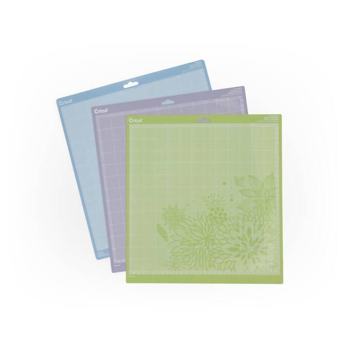 CRICUT Schneidematte Variety Pack (304 mm x  304.8 mm, Mehrfarbig)