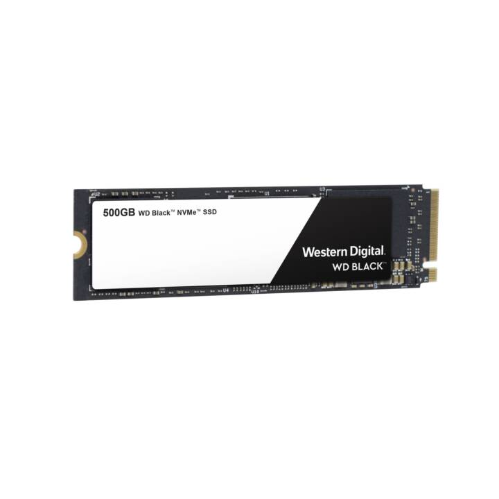WESTERN DIGITAL SSD WD (PCI Express, 500 GB, Noir)