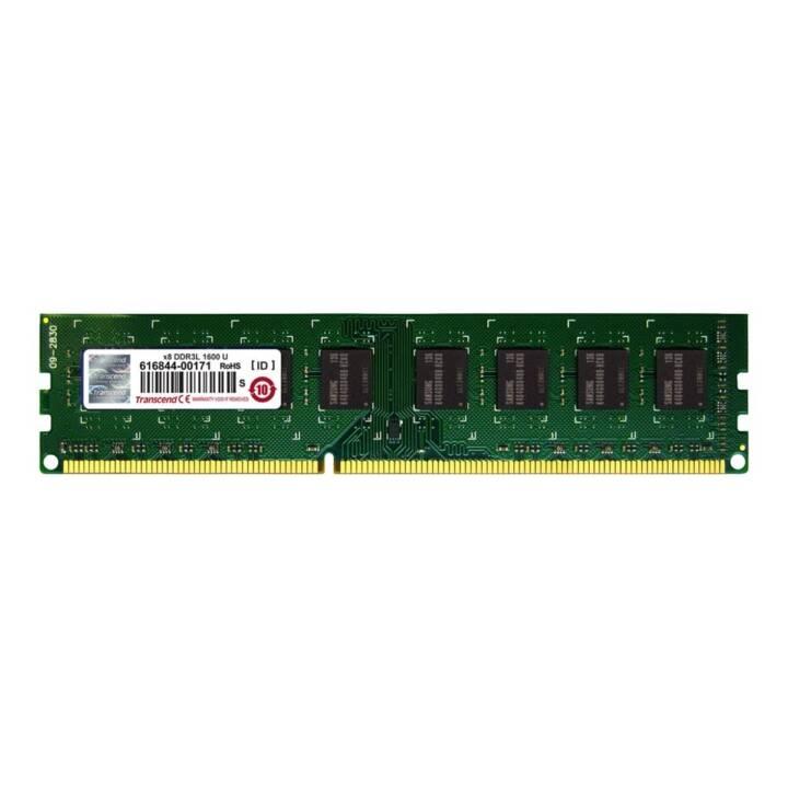 TRANSCEND TS256MLK64W6N (1 x 2 GB, DDR3-SDRAM, DIMM 240-Pin)